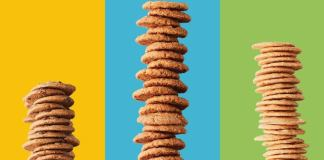 thinsters stacked cookies