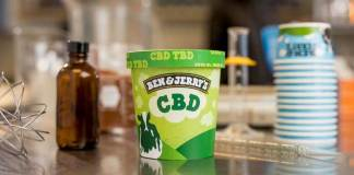 CBD ice cream by Ben & Jerry's