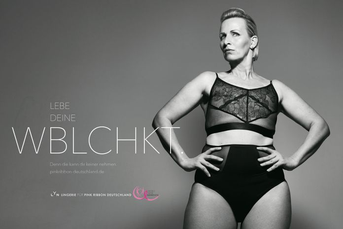 BBDO Düsseldorf : Pink Ribbon Germany : LYN campaign photographed by Rankin 2