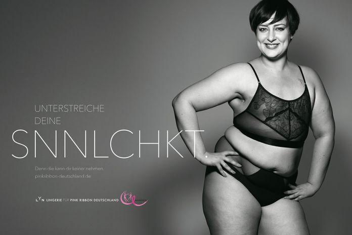 BBDO Düsseldorf : Pink Ribbon Germany : LYN campaign photographed by Rankin 3