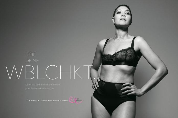 BBDO Düsseldorf : Pink Ribbon Germany : LYN campaign photographed by Rankin 5