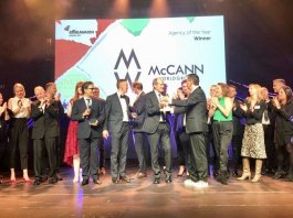 McCann Worldgroup European Agency Network of the Year Effie Awards 2019
