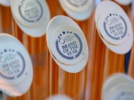 World Branding Awards trophy