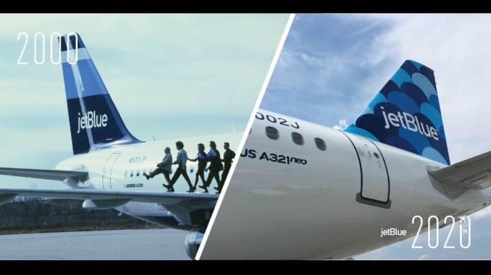 JetBlue celebrates 20 years of award-winning customer service
