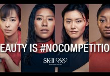 SK-II and Olympic athletes challenge toxic competitions in beauty