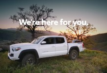 TOYOTA we are here for you ad