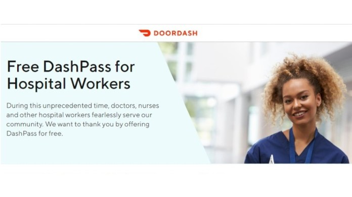 DoorDash partners with Mount Sinai and Neat to donate free meals