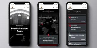 "Porsche launches latest digital service ""Porsche Track Your Dream"""
