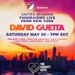 Heineken and MLS teams up with David Guetta to raise funds