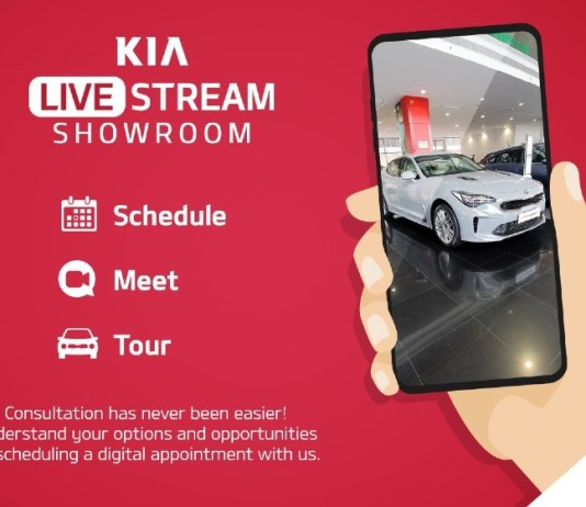 Kia Motors announces the launch of 'Live Stream Showroom' platform