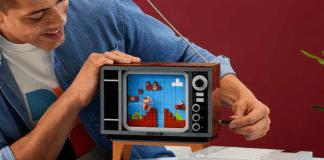 LEGO Group and Nintendo builds a LEGO Nintendo Entertainment System