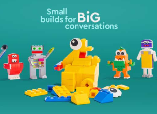 "LEGO launches its ""Small Builds for Big Conversations"" initiative"