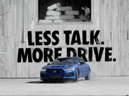 Acura launches its latest marketing campaign for the 2021 TLX sports sedan