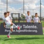 Porsche sponsors Borussia Mönchengladbach's young footballers