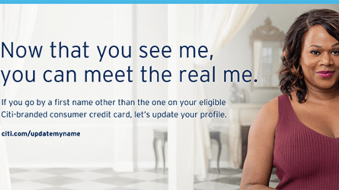 """Citi Launches """"True Name"""" Feature with Mastercard Across the US"""