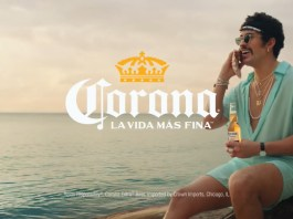 Corona shares Bad Bunny's refreshingly optimistic take on La Vida Más Fina