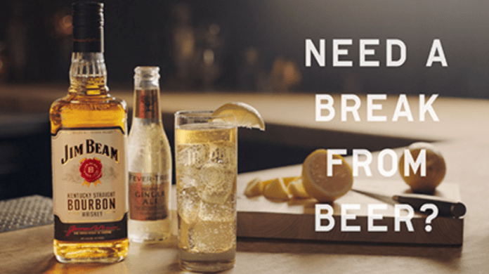 Jim Beam encourages beer fans to take a break from in latest campaign