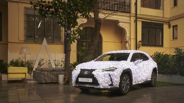 Lexus Spain unveils the UX Art Car 2021,