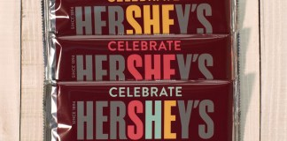 Hershey's brand to celebrate SHE with change to its iconic chocolate bar