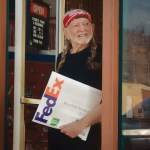 FedEx launches its latest sustainability marketing effort with Willie Nelson