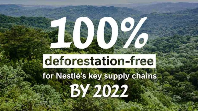 Nestlé moves beyond forest protection to a forest positive strategy