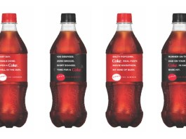 """Coca-Cola evokes """"all the feels"""" with new poetic packaging"""