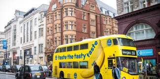 Chiquita reignites London's streets with bright branded banana busses