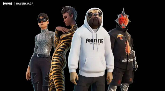 Fortnite X Balenciaga, Colab, Collaboration, fashion, gaming,