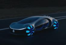 Concept, Car, Future, Mercedes, Vision ATVR