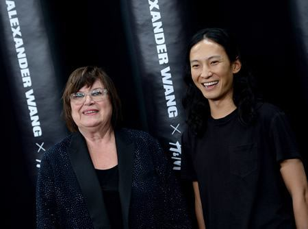 Margareta Van Den Bosch, H&M Creative Advisor with Alexander Wang