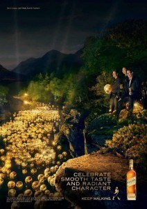 Strength of Character Makes for New Johnnie Walker(R) Advertising Campaign