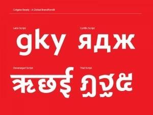 Colgate Typeface
