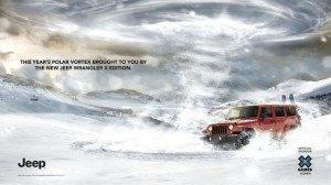 Jeep X Games Aspen Print Campaign