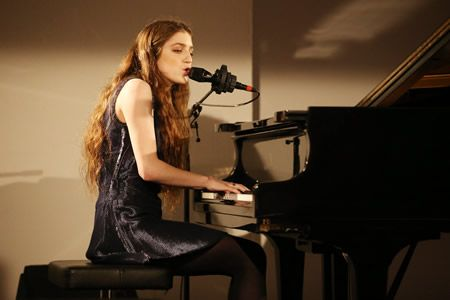 Birdy performs at Calvin Klein Watches & Jewelery event at Brasilea Foundation (Thomas Niedermueller/Getty Images)