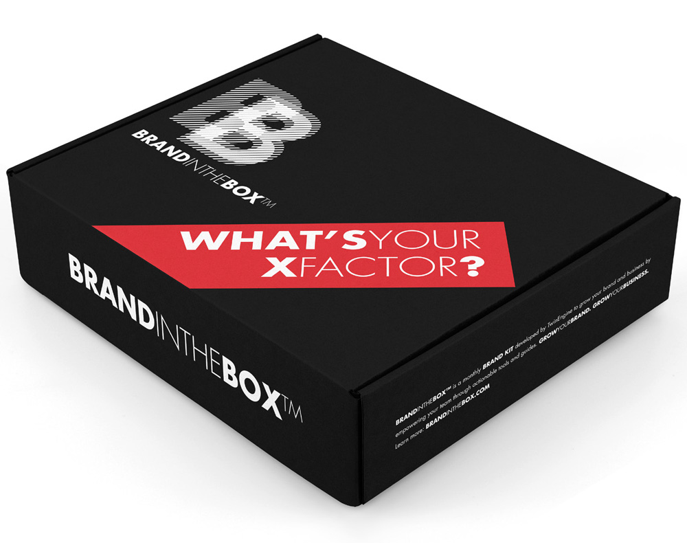BrandintheBox® – March box – What's Your XFactor?
