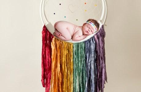 Somewhere over the Rainbow Baby