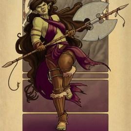 La Barbare - The Barbarian