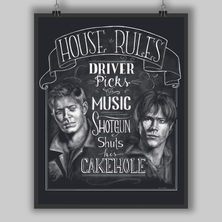 House Rules Chalk