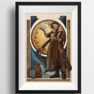 Critical Role – Of Cosmos and Consequences – Caleb Widowgast Print