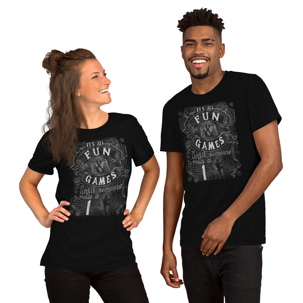 Fun and Games Short-Sleeve Unisex T-Shirt