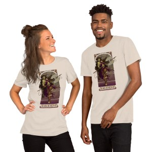 La Barbare – The Barbarian Short-Sleeve Unisex T-Shirt