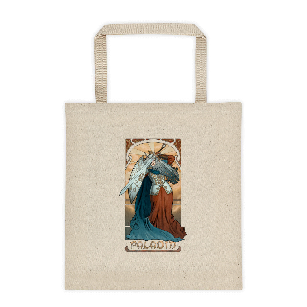 La Paladin – The Paladin Tote bag