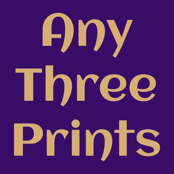 Any Three Prints