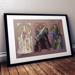 Legend of Zelda – The Triforce 20×30 Print