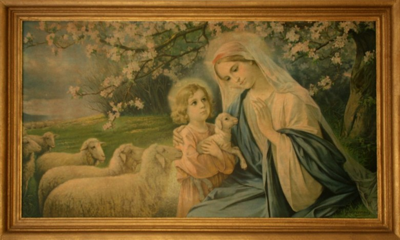 Madonna_Oma_hat gemalt_Geschenk_19._Jhdt