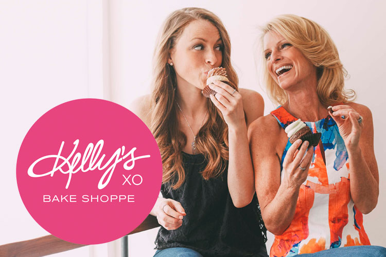 Kelly Childs and Erinn Weatherbie of Kelly's Bake Shoppe