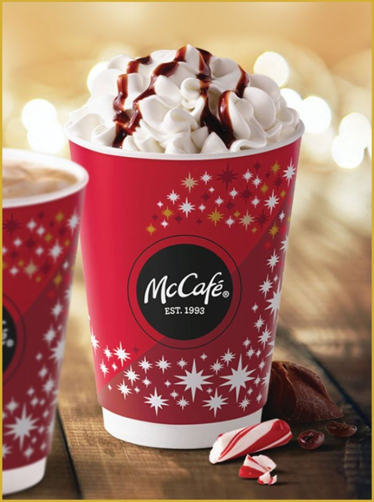 McCafe Holiday Cup for 2017