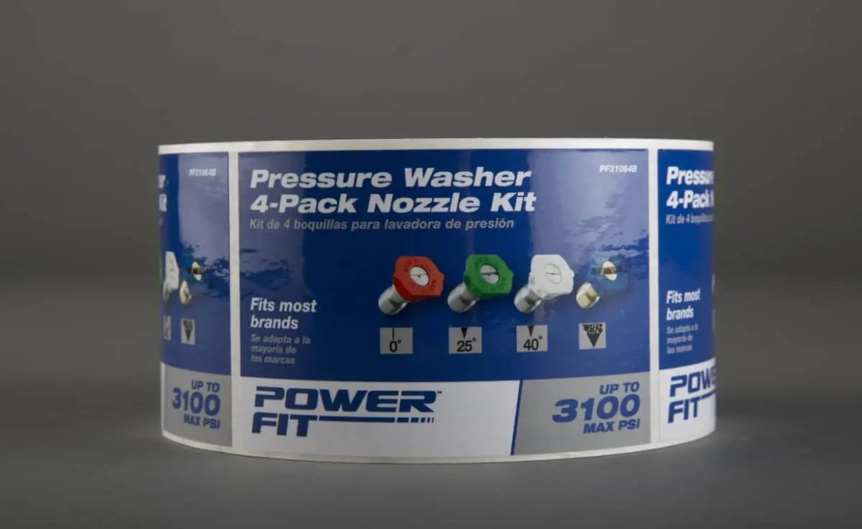 Power Fit Label