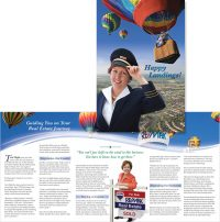 Terri Flight in Virginia Real Estate Agent brochure