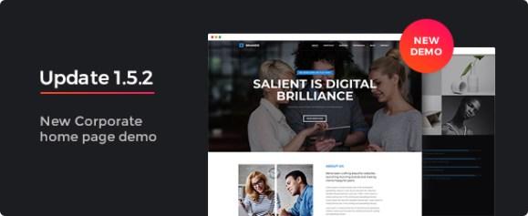 Brando Responsive and Multipurpose OnePage WordPress Theme - 5